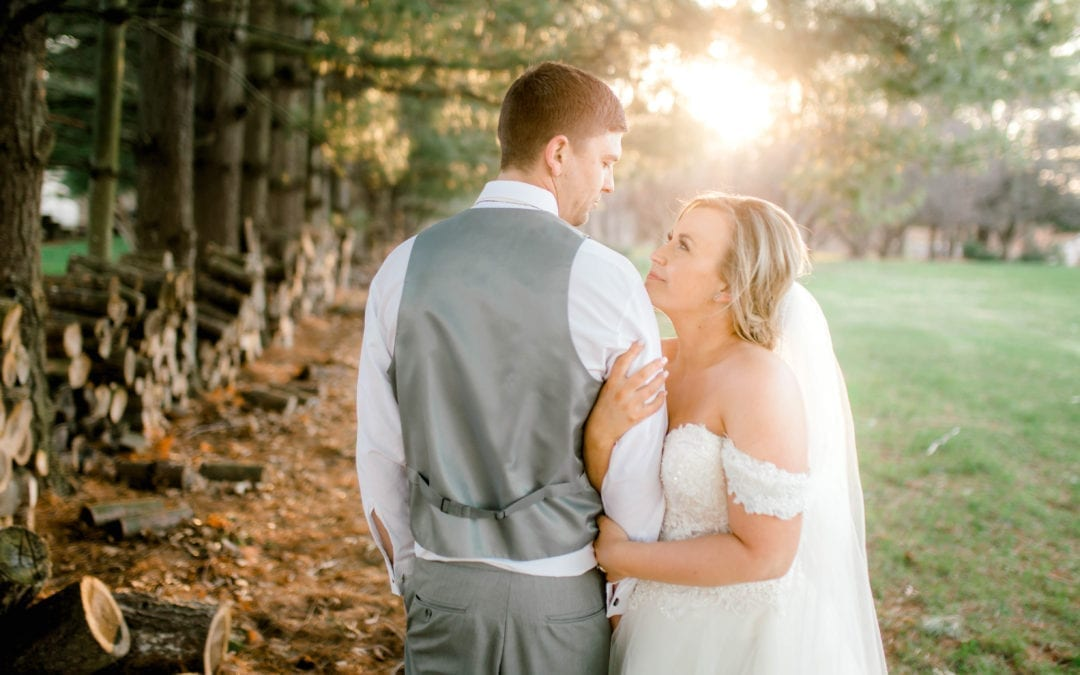 Ali + Josh | Black Barn Vineyard | Rives Junction, Michigan Wedding
