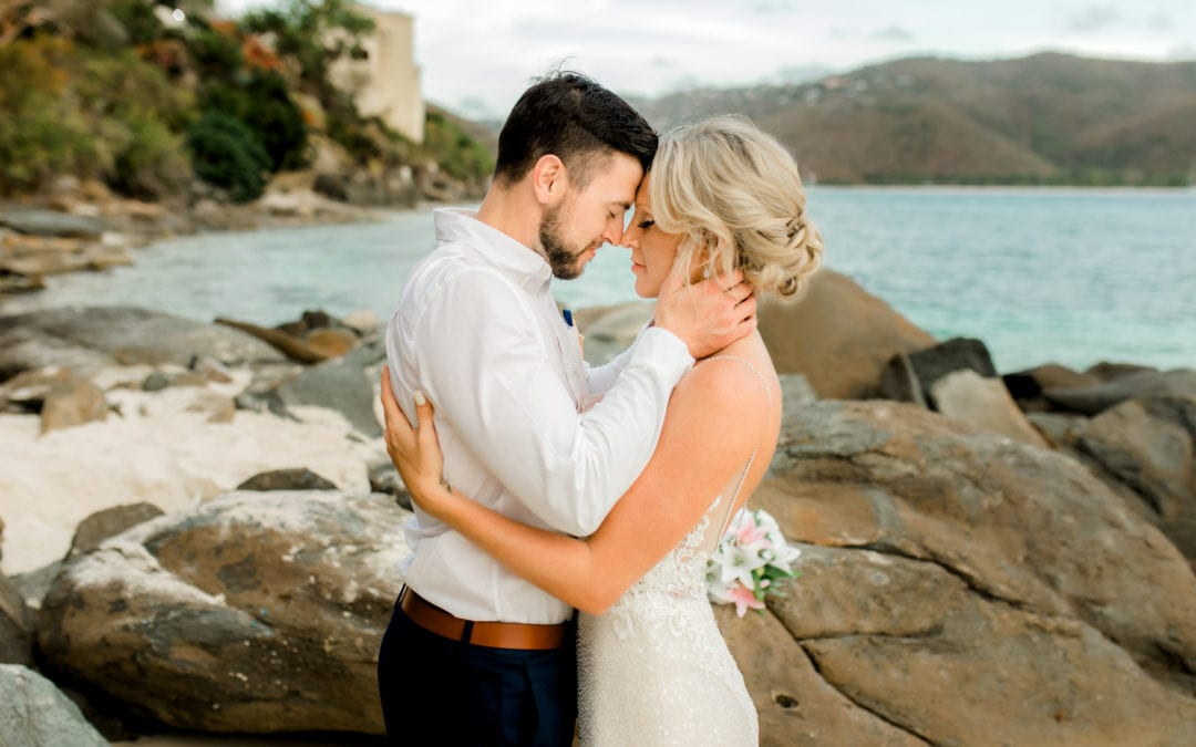 JILL & ANDREW | SAND DOLLAR ESTATES | ST. THOMAS WEDDING